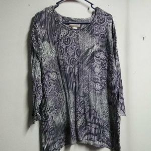Alfred dunner blouse plus size